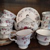 Rosamund Elizabethan Staffordshire china service for 8