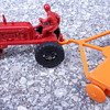Marx Plastic Tractor with disc plow