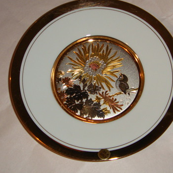 LaL Plate silver and copper engravings - China and Dinnerware