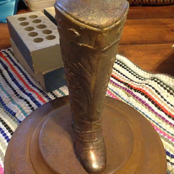 cowboy boot ash tray