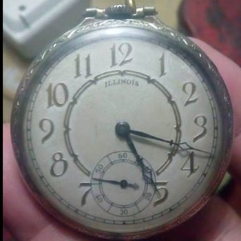 Illinois watch Lincoln - Pocket Watches