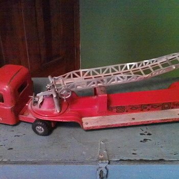 Old fire truck from late 50's