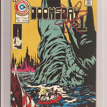 Doomsday +1, Abombs, robots aliens and fish people - Comic Books