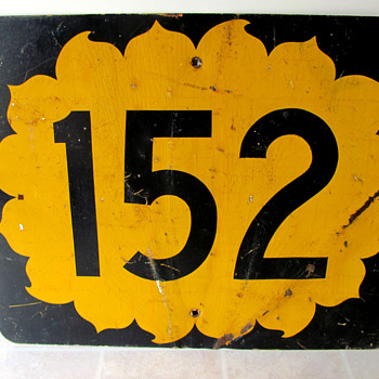 State Highway 152 Sign (Kansas) - Signs