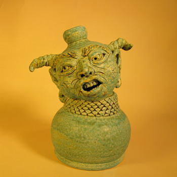 """ Pain "" - Art Pottery"
