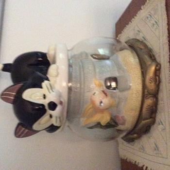 Disney Figaro and Cleo Cookie Jar