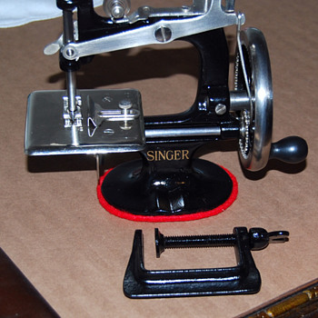 restored singer toy sewing machine - Sewing