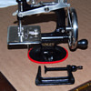 restored singer toy sewing machine