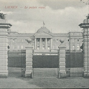 LAEKEN - LE PALAIS ROYAL