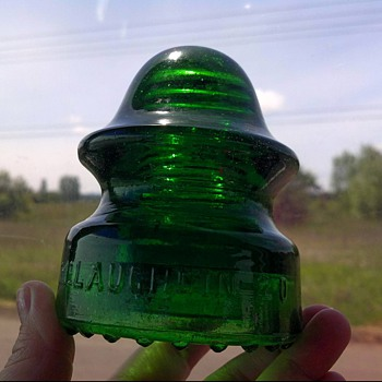 Glass Insulators - Not uncommon, but they speak to my soul for some reason!