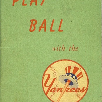 Play Ball with the Yankees - Baseball
