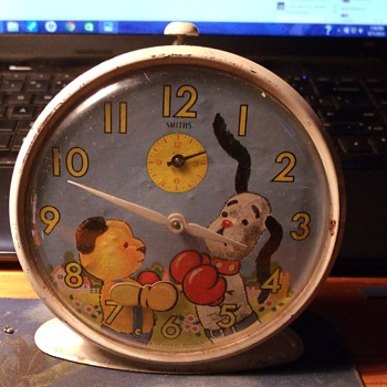 Sooty & Sweep Animated AlarmClock - Clocks