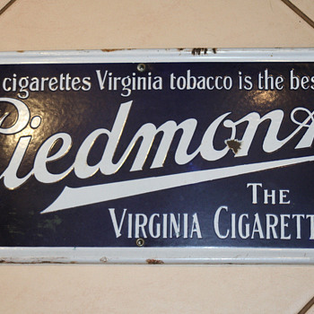 Piedmont Virginia - Tobacciana