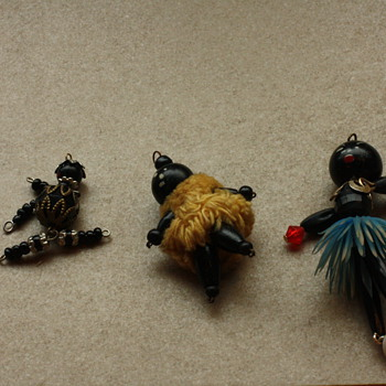 Blackamoor figureens - Costume Jewelry