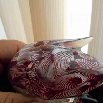 My Favorite Art Glass Bird