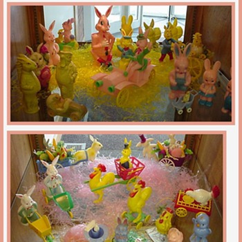 My Vintage Easter Toys and Decoration Collection - Christmas
