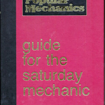 1989 Auto Mechanic Handbook - Books