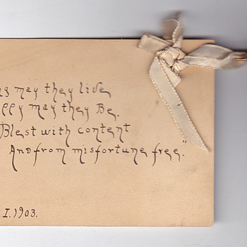 Card with a bell - Paper