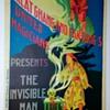 "Original Fak Hong ""The Invisible Man"" Stone Lithograph Poster"