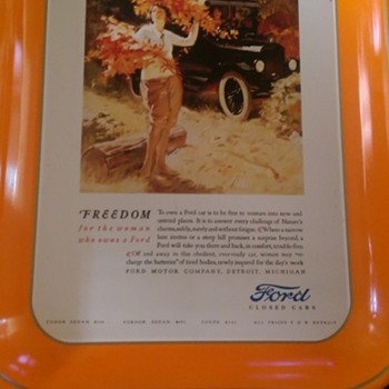 Ford Tray (Ford Closed Cars)