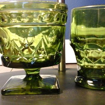 Green Glassware