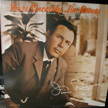 Jim Reeves  Yours Sincerely - Records