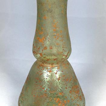"Loetz ""Cephalonia"" Vase. 5"" tall. Circa 1904"