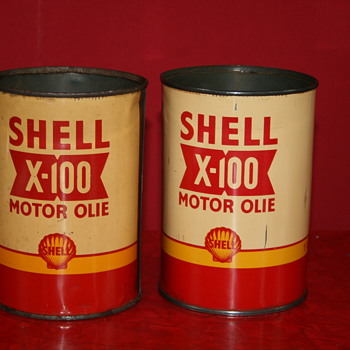shell quart oil can - Petroliana