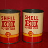 shell quart oil can