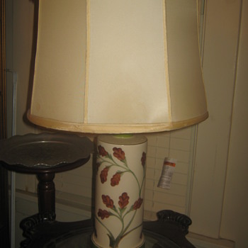 Old lamp /floral design  - Lamps
