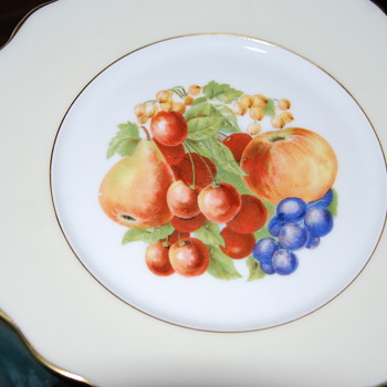 french plate - China and Dinnerware