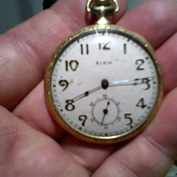 ELGIN 12 size pocket watch from the 20s,..