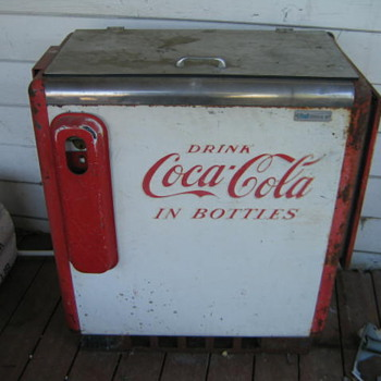 The coke machine my neighbor gave me! - Coca-Cola