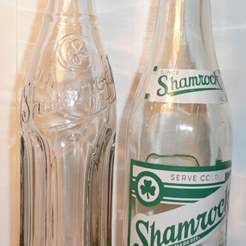 Shamrock & Dr. Cherry Bottles