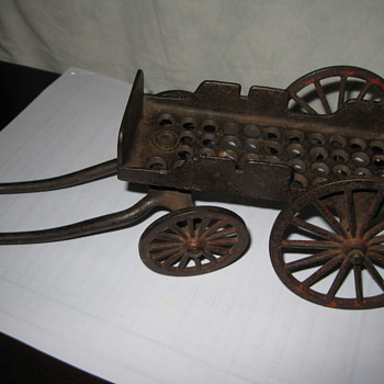 Cast Iron Horse Cart - Toys