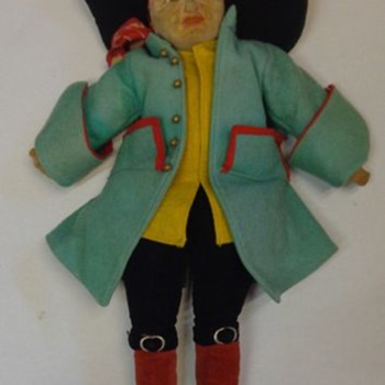 Norah Wellings Pirate Doll 1930s - Dolls