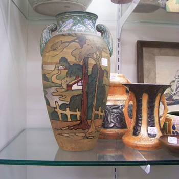 Art Pottery Vase - Art Pottery