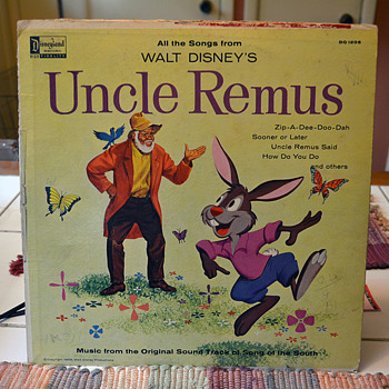 Uncle Remus: Song of the South Soundtrack, 1959