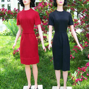 Margit Nilsen McCall  Store Counter display Mannequins 30 Inches tall  - Sewing