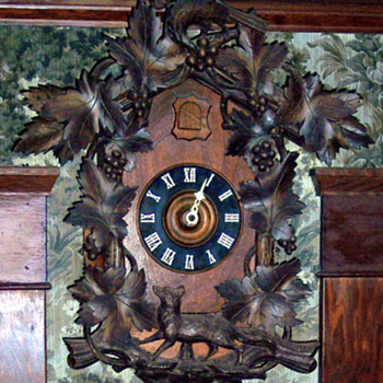 Black Forest Cuckoo Clock - Clocks
