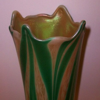 KEW BLAS VASE c. 1900 - Art Glass