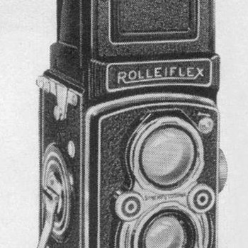 1953 - Rolleiflex Camera Advertisements - Advertising