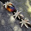 Sarah Coventry Brooch & Earrings - Autumn Haze