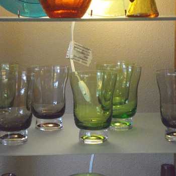 Mid Century Bar Glass - American?