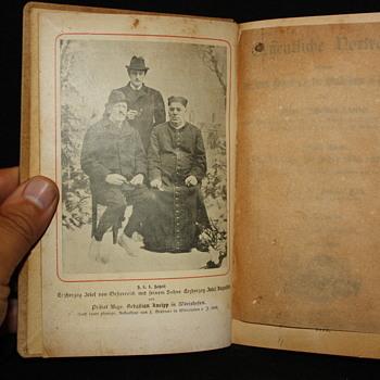 1898 book Geffentliche Vortrage