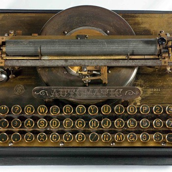 Automatic typewriter - 1887