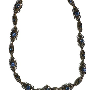 Anyone know who made this necklace that I fell in love with? - Costume Jewelry