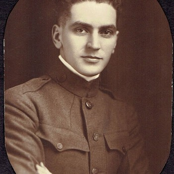 UNIFORMED GENT, IS IT WW1 ? I just bought it ,Cabinet Card.