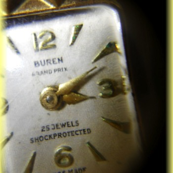 Old ladies Watch -- BUREN GRAND PRIX - 25 Jewels - Swiss Made - Wristwatches