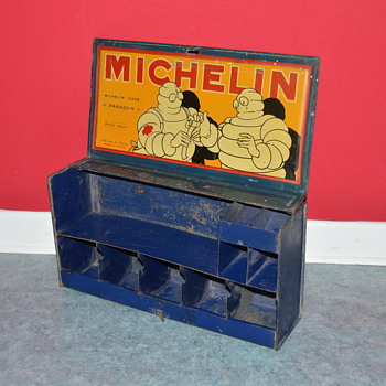michelin tin box